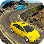 Mountain Crazy City Cab Driver Taxi Game 2017