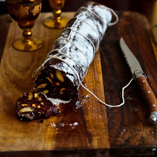 Christmas Chocolate Salami