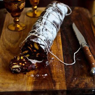 Christmas Chocolate Salami.