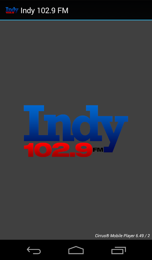 Indy 102.9 FM- screenshot