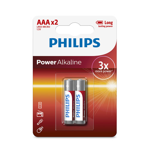 Pin Philips LR03P2B (2 viên AAA)