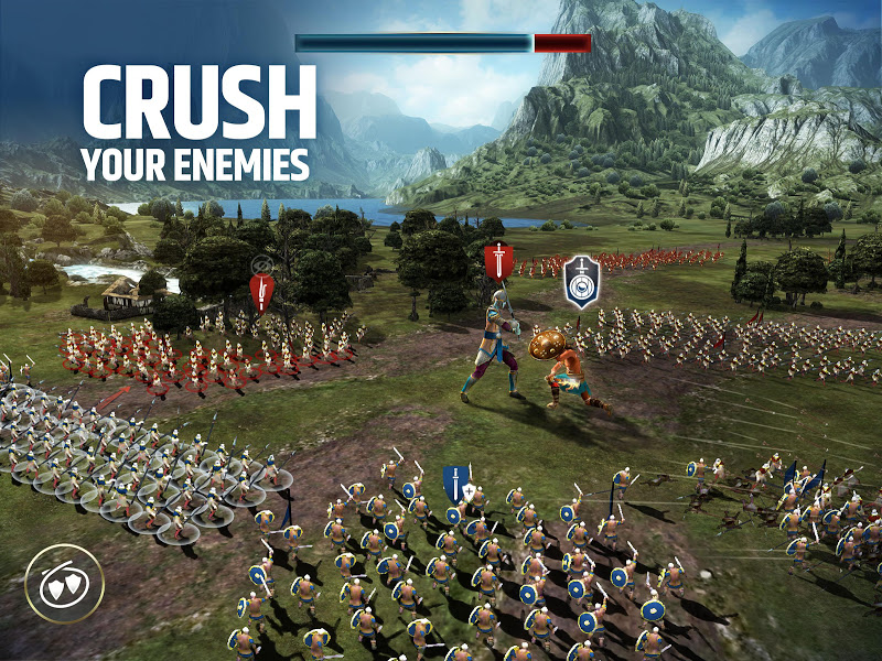Dawn of Titans - Epic War Strategy Game Screenshot 8