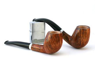 Photo: The resulting design: a set of two pipes make in Straight Grain