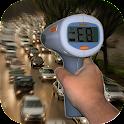 Speed radar prank icon