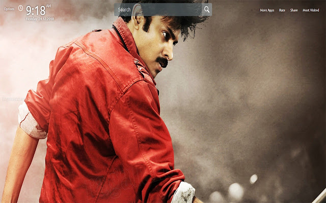 Pawan Kalyan Wallpapers Theme New Tab