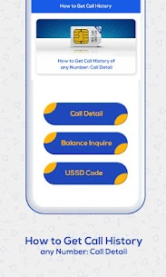How to Get Call History of Others : Call Detail 3