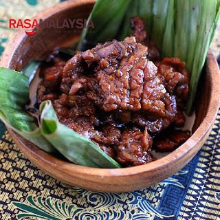 Daging Masak Kicap (Soy Sauce Beef)