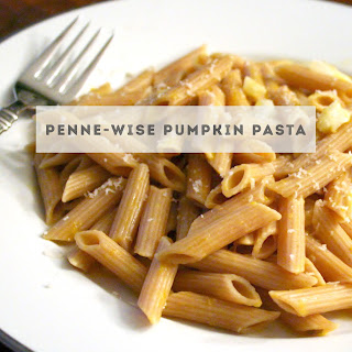 Penne-Wise Pumpkin Pasta