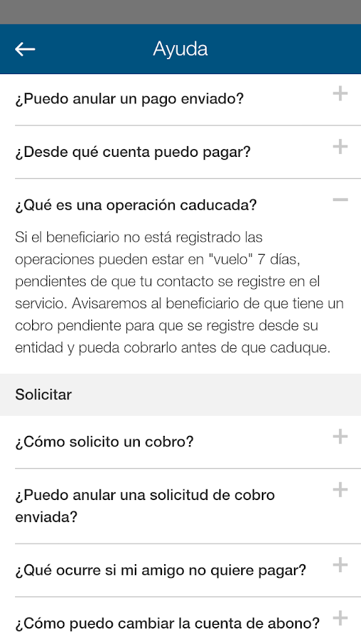 ABANCA Pay- screenshot