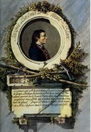 Мишель Габриэль Паккар с Жаком Бальма в 1786 году совершили первое восхождение на Монблан