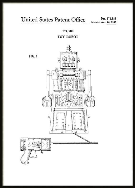 Patent Poster Robot