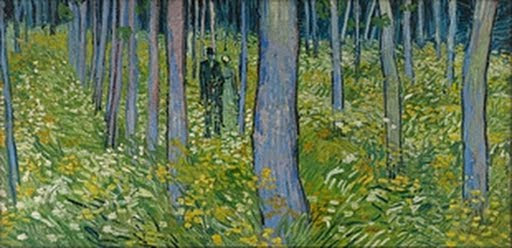 Undergrowth with Two Figures - Vincent van Gogh (Dutch, b.1853, d.1890) - Google Cultural Institute