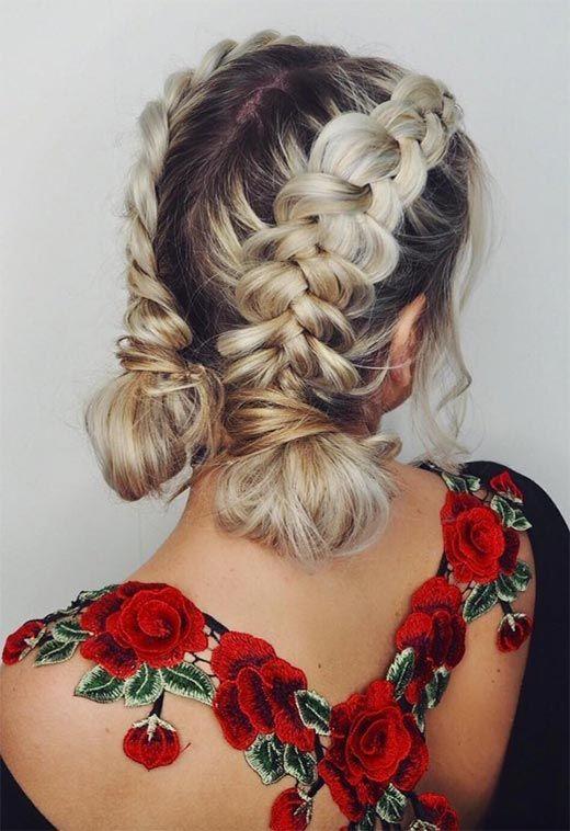 hairstyles-for-long-hair-braidedlowbuns
