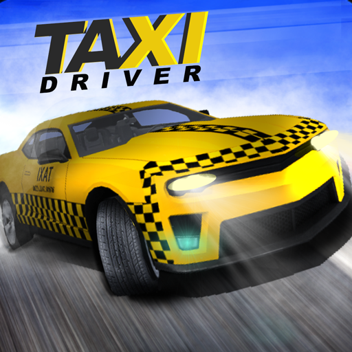 Taxi Driving City Simulation