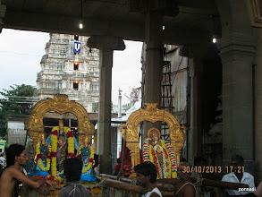 Photo: Adhi kEsava perumAL with ubhaya nAchiyArs and mAmunigaL puRappAdu