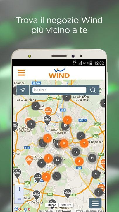 MyWind (App ufficiale Wind)- screenshot