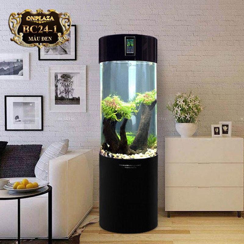 bể cá mini xuất hiện ở rất nhiều nơi: nhà ở, văn phòng, quầy lễ tân, bàn tiếp khách...