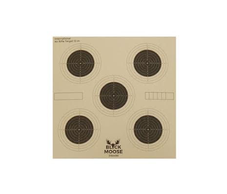 Black moose Shooting Target: 5 rings