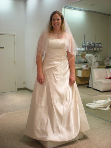 Plus-Size-Champagne-Wedding-Gown