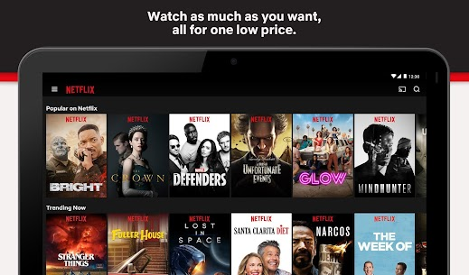 Netflix Mod Apk 7.70.0 [Premium Unlocked + 4K + Fast Server] 7
