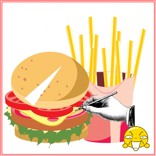 Drawing to The Cute Food