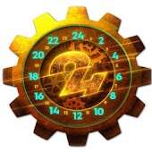 24 Clock Wallpaper