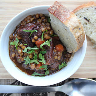 Slow Cooker Beef and Barley Stew for Chilly Nights.