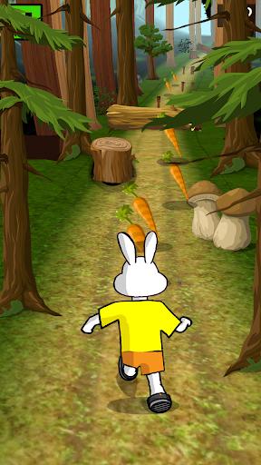 Bunny Dash : Jungle Run