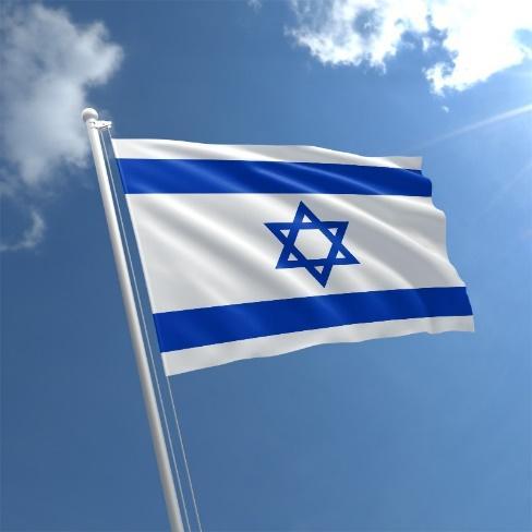 Isreal Flag Std - Shames JCC