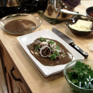 Black Bean-Sauced Enchiladas