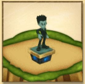 レオリオの像