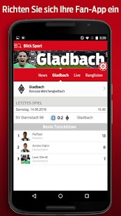 Blick Sport- screenshot thumbnail