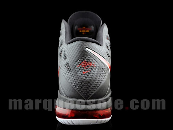 First Look at Nike LeBron 8 PS Black  Varsity Red  White
