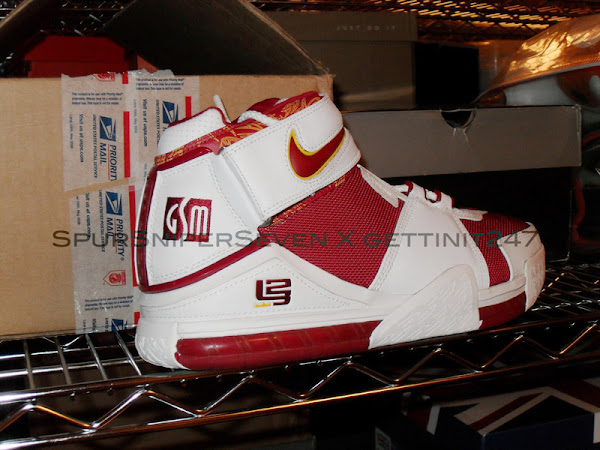 Unvaulted Unseen Nike LeBron II Goodwin Sports Management PEs