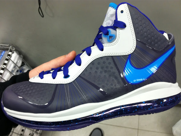 Probably the Best Look at Nike LeBron 8 V2 8220Summit Lake Hornets8221