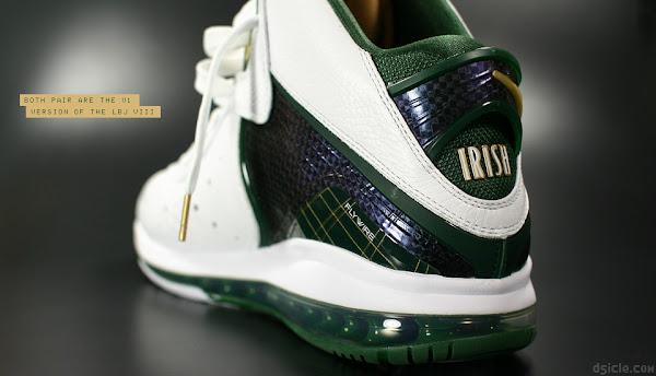 PE Spotlight Nike LeBron 8 V1 SVSM Home and Away PEs