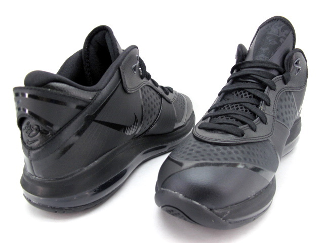 91bdcd541ad2 Nike LeBron 8 V2 – Black on Black (456849-001) – Detailed Look ...