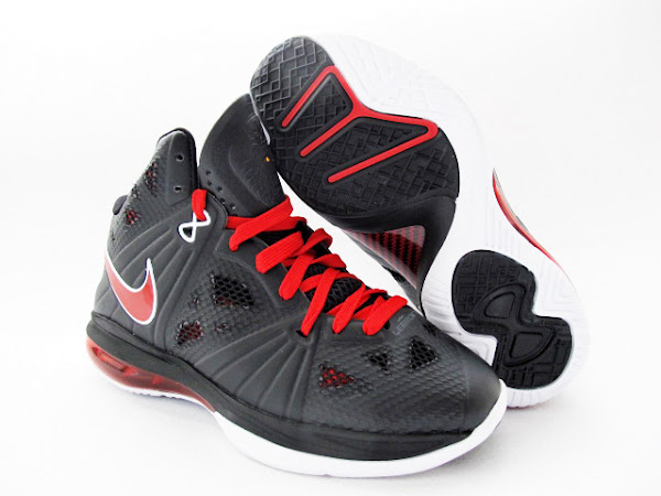 Upcoming Nike LeBron 8 PS 8211 Miami Heat Away 8211 New Images