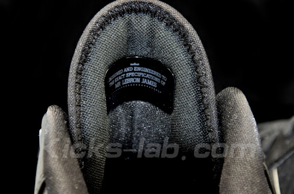 Additional Photos Presenting 8220Blackout8221 Nike LeBron 8 V2 Low