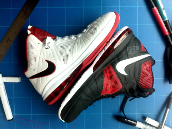 Nike LeBron 8 V4 8220Milan8221 amp Jason Petrie8217s Samples Table