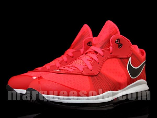 First Look at Nike LeBron 8 V2 Low in Solar RedWhiteBlack