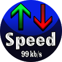 Internet Speed Meter ( Data Traffic Monitoring ) icon