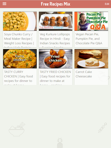 Free Recipes Daily Screenshot