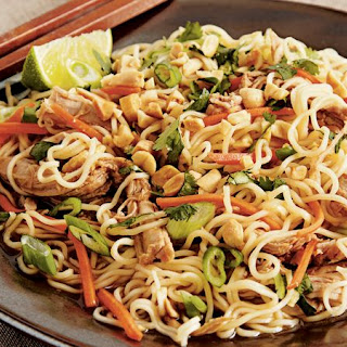 Slow-Cooker Chinese Pork with Garlic Noodles Recipe