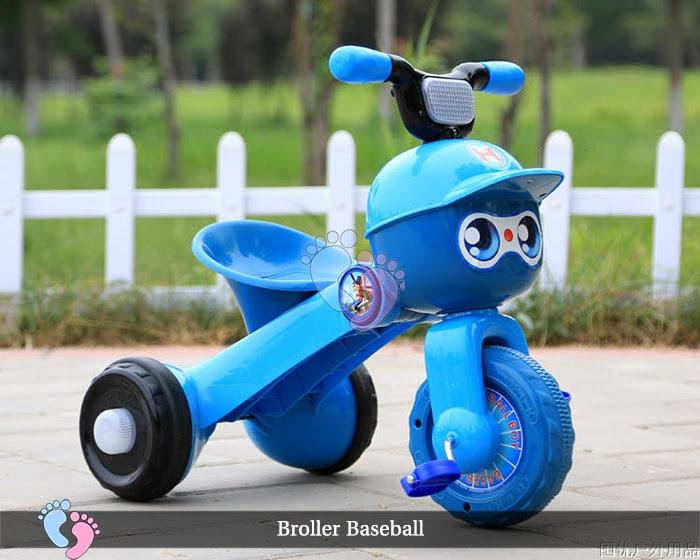 Xe đạp ba bánh trẻ em Broller XD3 Baseball 6