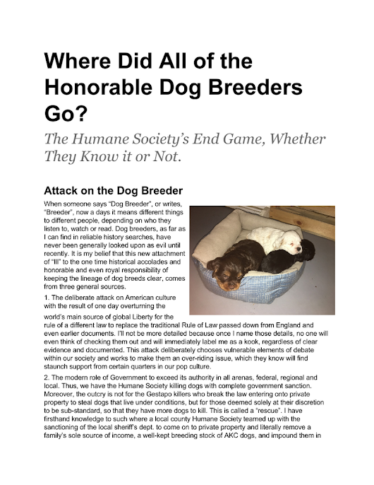 Where Did All of the Honorable Dog Breeders Go.pdf