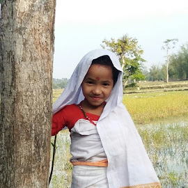 Traditional Moran dress by Julie Gogoi - Babies & Children Child Portraits