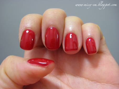 visit to Nails Inc just before my 2.5 week holiday in Oz. Can
