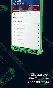 Windscribe VPN Screenshot