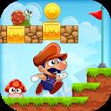 Super Bino Go: New Free Adventure Jungle Jump Game icon
